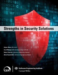 Strengths in Security Solutions - Cert