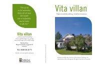Broschyr - Vita villan - Sollefteå kommun