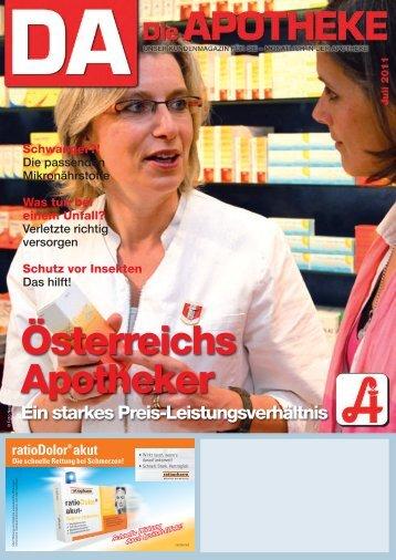 Österreichs Apotheker Ein starkes Preis ... - Arnika Apotheke