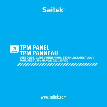 TPM_manual.indd 1 10-11-19 4:36 - Saitek.com