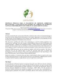 políticas públicas para o pagamento de serviços ambientais ...