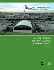 Capital Program Sustainable Design Guidance Manual - Columbus ...