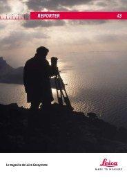 REPORTER 43 - Leica Geosystems