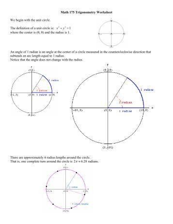 math 11 unit 3 trigonometry review abbynet. Black Bedroom Furniture Sets. Home Design Ideas