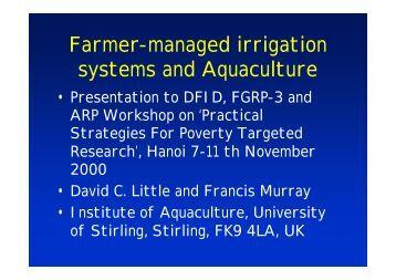 Irrigation System Maintainance Manual Jain Irrigation