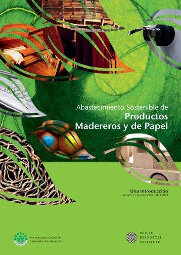 Productos Madereros y de Papel - Basque Ecodesign Center