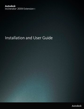 Installation and User Guide - Autodesk