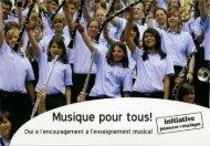 Musique pour tous! - Association Cantonale des Musiques ...