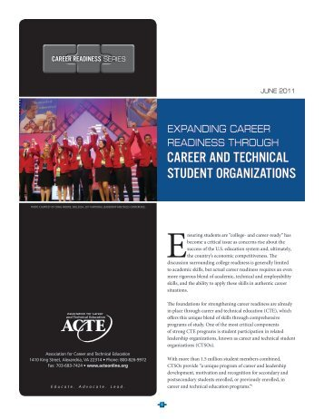 readiness through career and technical student organizations