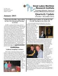 January 2013 - Great Lakes Maritime Research Institute
