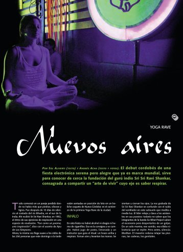YOGA RAVE - Revista La Central