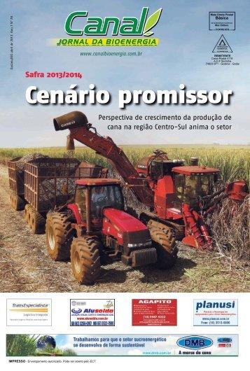 Safra 2013/2014 - Canal : O jornal da bioenergia