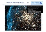Technische Optik in der Astronomie - sowada-online home