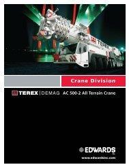 Terex Demag AC-500-2 Load Charts