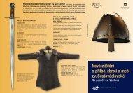 Nová zjištění o přilbě, zbroji a meči zv. Svatováclavské