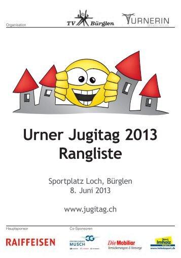 Urner Jugitag 2013 Rangliste - LC Altdorf