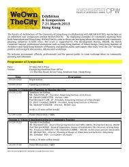 Exhibition & Symposium 7-21.March.2013 Hong Kong - RICS Asia