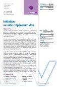 Catalogue des FORMATIONS 2007 - Vacuum-Guide - Page 7