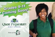Grades 9-11 Coming Soon!