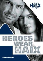 Collection 2012 - HAIX.COM
