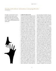 Naturalezza dell'artificiale. Ambientalismo e ... - ARPA Umbria