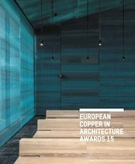 European Copper in Architecture Awards 15 - Copper Development ...