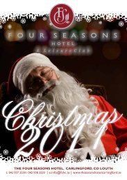 Downloads Four Seasons Hotel Christmas Brochure - Discover Ireland