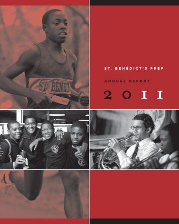 st. benedict's prep annual report - Johnson OR Berish Design