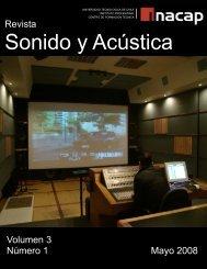 Revista Sonido y Acústica - Inacap