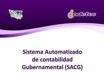 Sistema Automatizado de Contabilidad Gubernamental (SACG)