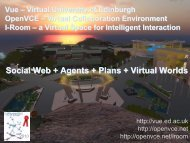 Social Web + Agents + Plans + Virtual Worlds - Artificial Intelligence ...