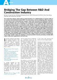 Bridging The Gap Between R&D And Construction Industry