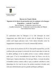 Signature de la charte de partenariat entre la ... - Ville de Brignoles