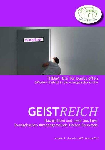 GEISTREICH - Evangelische Kirchengemeinde