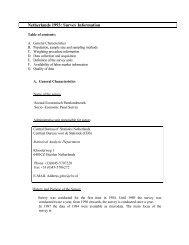 Socio-Economic Panel Survey - LIS