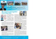 Tim's Spring 2009 Annual Report (for 2008) - Loughton, Tim