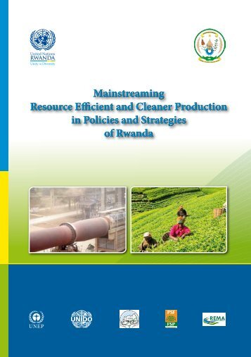 Mainstreaming Resource Efficient and Cleaner Production in Policies and Strategies of Rwanda