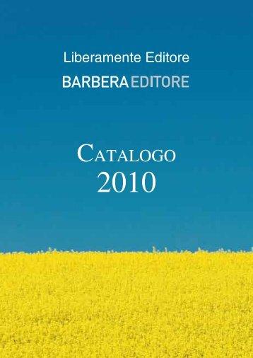 CATALOGO - Barbera Editore