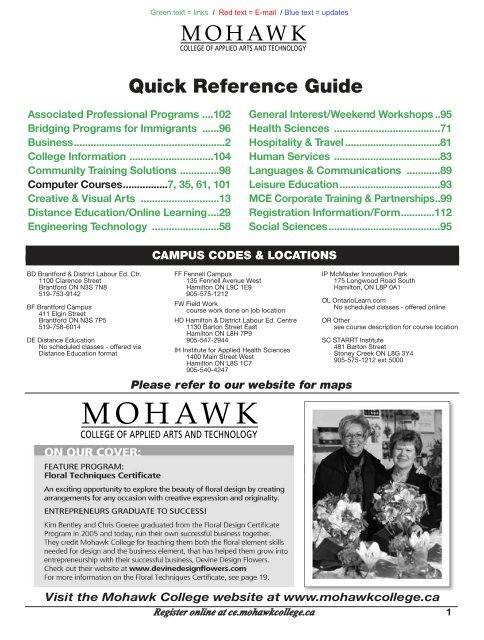 Business Mohawk College