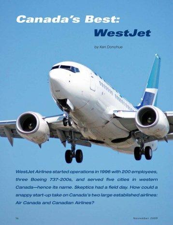 Canada's Best: WestJet - Ken Donohue