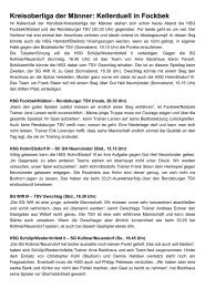 Kreisoberliga der Männer: Kellerduell in Fockbek - TSV Owschlag