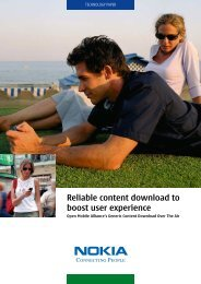 Reliable content download to boost user experience