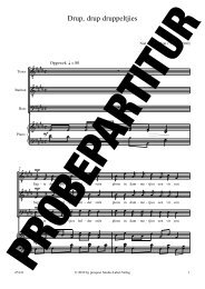 Drup, drup druppeltjies - prospect Studio-Label-Verlag