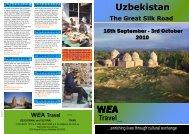 Uzbekistan - WEA