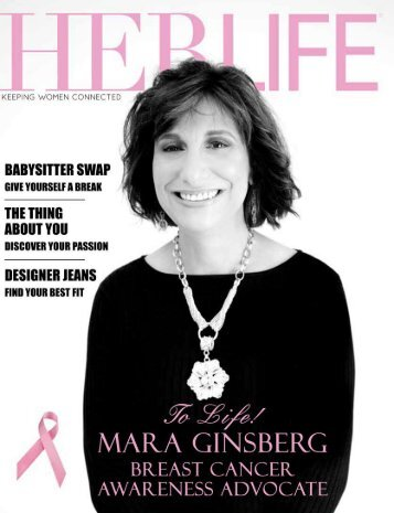 Mara Ginsberg - HER LIFE Magazine