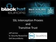 bh-eu-12-Jarmoc-SSL_TLS_Interception-Slides