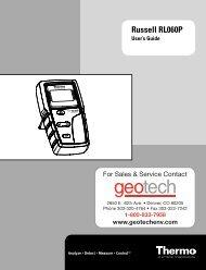 Russell RL060P - Geotech Environmental Equipment