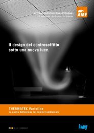 Il design del controsoffitto sotto una nuova luce.