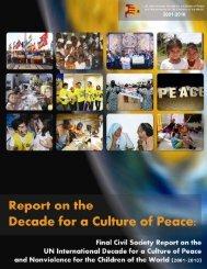 Civil Society Report - Escola de Cultura de Pau - Universitat ...