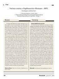 Vacinas contra o Papilomavírus Humano – HPV - NewsLab